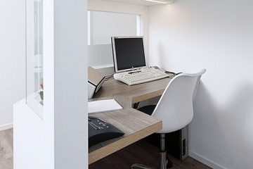 Computer-Arbeitsplatz, Hausarzt-Praxis Böggemeyer in Nienberge.