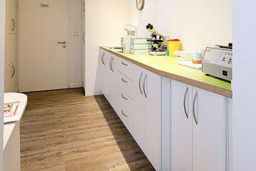 Behandlungsraum, Hausarzt-Praxis Böggemeyer in Nienberge.